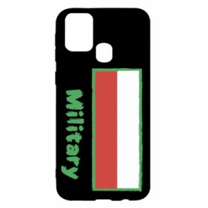 Samsung M31 Case Military and the flag of Poland