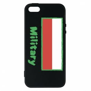Etui na iPhone 5/5S/SE Military i flaga Polski
