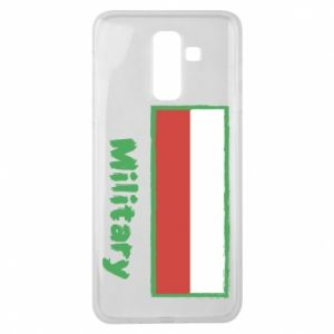 Samsung J8 2018 Case Military and the flag of Poland