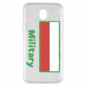 Samsung J7 2017 Case Military and the flag of Poland