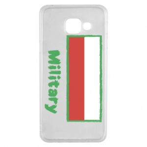 Samsung A3 2016 Case Military and the flag of Poland