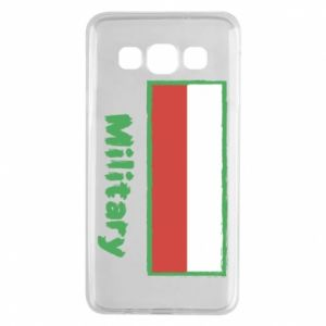 Samsung A3 2015 Case Military and the flag of Poland