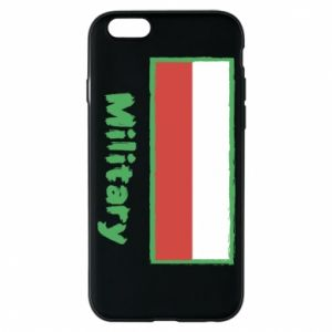 Etui na iPhone 6/6S Military i flaga Polski