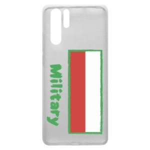 Huawei P30 Pro Case Military and the flag of Poland