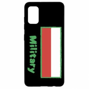 Samsung A41 Case Military and the flag of Poland