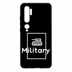 Xiaomi Mi Note 10 Case Military with a tank