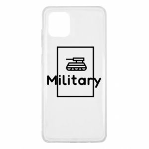 Samsung Note 10 Lite Case Military with a tank