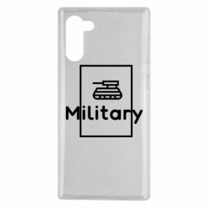 Samsung Note 10 Case Military with a tank