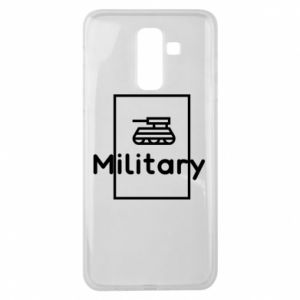 Samsung J8 2018 Case Military with a tank