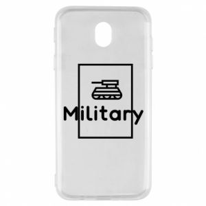 Samsung J7 2017 Case Military with a tank