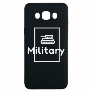Samsung J7 2016 Case Military with a tank