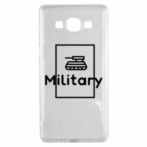Samsung A5 2015 Case Military with a tank