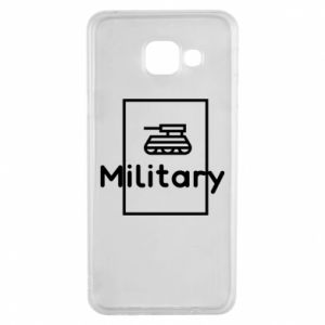 Samsung A3 2016 Case Military with a tank