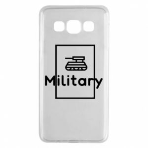 Samsung A3 2015 Case Military with a tank