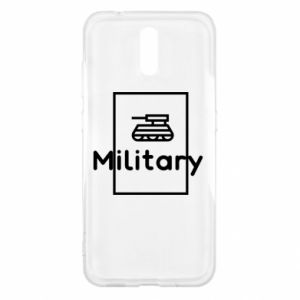 Nokia 2.3 Case Military with a tank