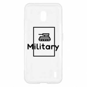 Nokia 2.2 Case Military with a tank
