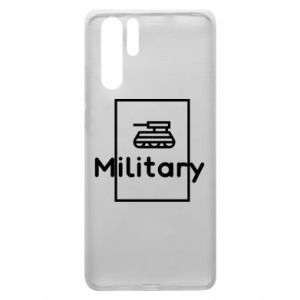 Huawei P30 Pro Case Military with a tank