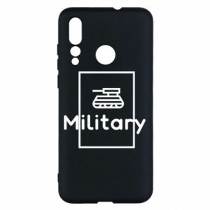 Huawei Nova 4 Case Military with a tank