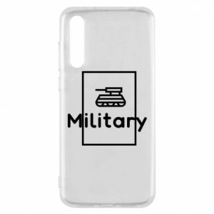 Huawei P20 Pro Case Military with a tank