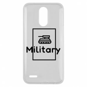 Lg K10 2017 Case Military with a tank