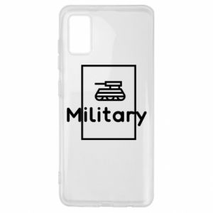 Samsung A41 Case Military with a tank