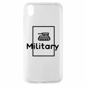 Huawei Y5 2019 Case Military with a tank