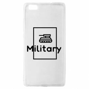 Huawei P8 Lite Case Military with a tank
