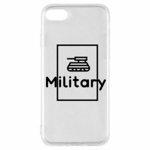 iPhone SE 2020 Case Military with a tank