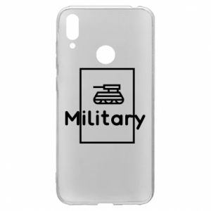 Huawei Y7 2019 Case Military with a tank