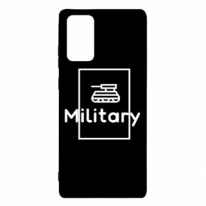 Samsung Note 20 Case Military with a tank