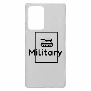 Samsung Note 20 Ultra Case Military with a tank
