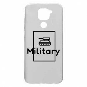 Xiaomi Redmi Note 9 / Redmi 10X case % print% Military with a tank