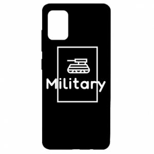 Samsung A51 Case Military with a tank