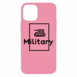 iPhone 12 Mini Case Military with a tank