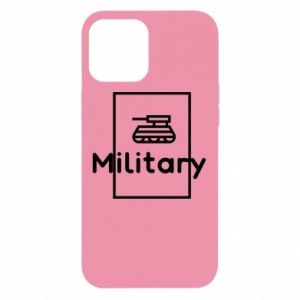 iPhone 12 Pro Max Case Military with a tank