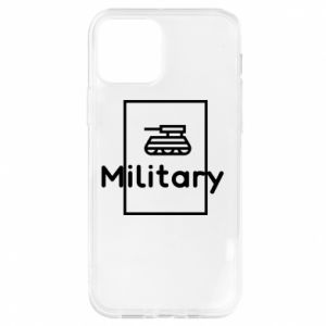 iPhone 12/12 Pro Case Military with a tank