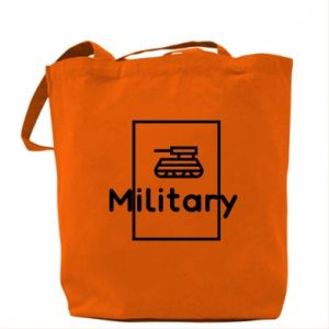 Bag Military with a tank