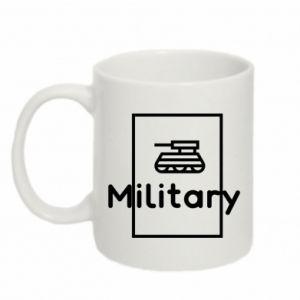 Mug 330ml Military with a tank