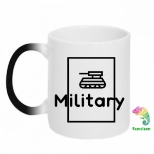Magic mugs Military with a tank