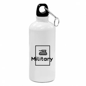 Water bottle Military with a tank