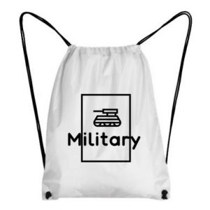 Backpack-bag Military with a tank