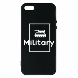 iPhone 5/5S/SE Case Military with a tank
