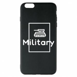iPhone 6 Plus/6S Plus Case Military with a tank