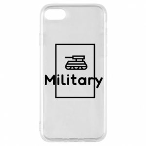 iPhone 8 Case Military with a tank
