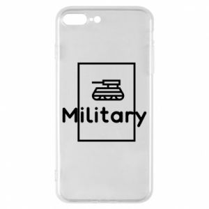 iPhone 8 Plus Case Military with a tank