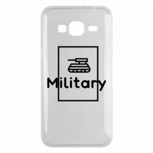 Samsung J3 2016 Case Military with a tank