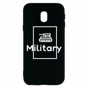 Samsung J3 2017 Case Military with a tank