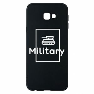 Samsung J4 Plus 2018 Case Military with a tank
