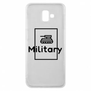 Samsung J6 Plus 2018 Case Military with a tank