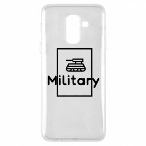 Samsung A6+ 2018 Case Military with a tank
